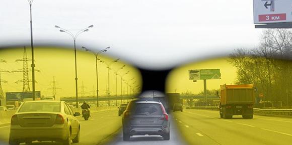 Очки водителя для плохой видимости