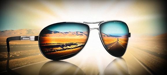 Поляризованные линзы солнцезащитных очков