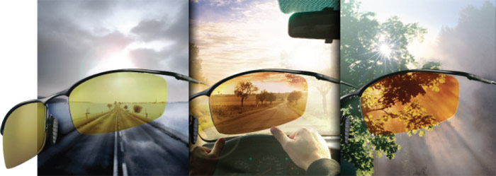 Универсальные очки водителя
