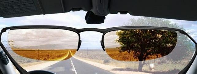 Фотохромные очки водителя