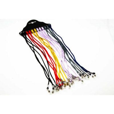 Шнурок для очков, цвет в ассортименте, 25 р шт