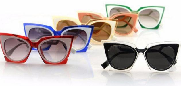 Яркие оправы солнцезащитных очков