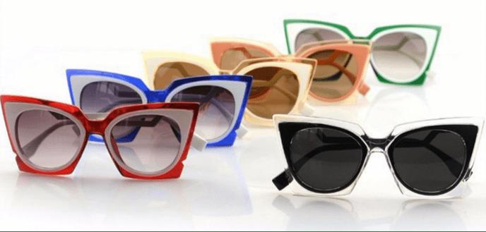 Яркие оправы солнцезащитных очков, не менее броские оттенки линз, смелые  формы очков – такой ассортимент моделей представлен в каждом нашем салоне  торговой ... e1de7de0d74