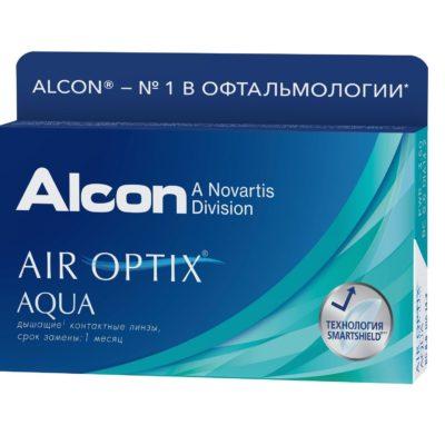 Air Optix Aqua 3 шт. в Екатеринбурге