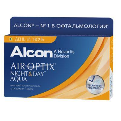 Air Optix Night&Day 3 шт. в Екатеринбурге