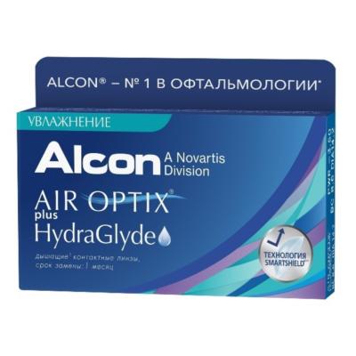 AIR OPTIX® plus HydraGlyde® 3 шт. в Екатеринбурге