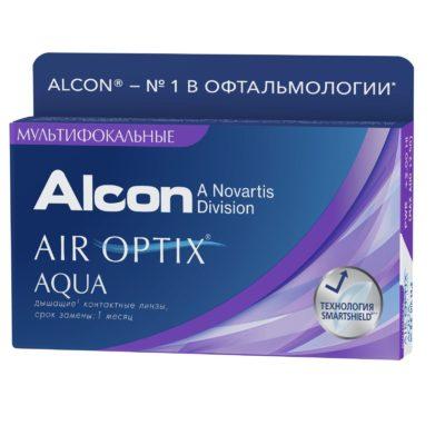 Air Optix Aqua MULTIFOCAL 3 шт. в Екатеринбурге